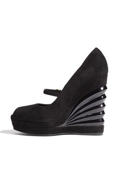 pinterest.com/fra411 #shoes -  YSL.