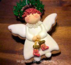 Angelito navidad cookie