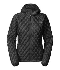 North Face Women's Thermoball Hoodie Black - Jackets & Coats - Women