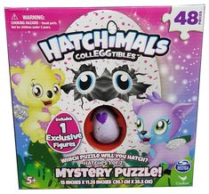 Hatchimals Colleggtibles Mystery Jigsaw Puzzle - 48-Piece