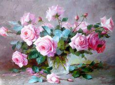 розы картина маслом: 19 тыс изображений найдено в Яндекс.Картинках