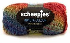 Laine et acrylique INVICTA Colour SCHEEPJES
