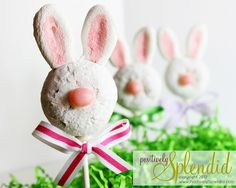 Donut Bunny Pops (Easter Creative Carousel!) | Positively Splendid {Crafts, Sewing, Recipes and Home Decor}