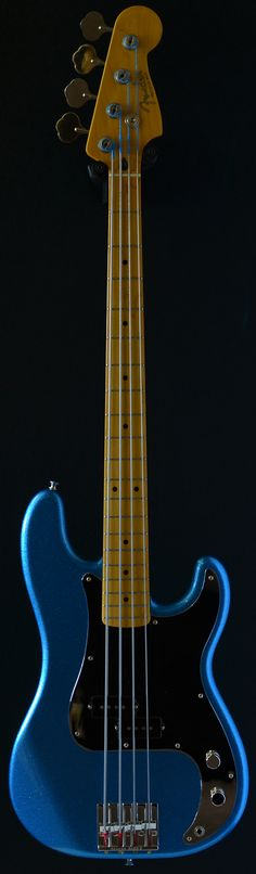 Fender Precision Steve Harris 4 string bass (via Bass Direct)