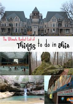 Are you looking for things to do in Ohio? We're sharing our favorite Ohio destinations in this massive guide to some of the best things Ohio has to offer. Oh The Places You'll Go, Places To Travel, Places To Visit, Camping Places, Algarve, Phuket, Cincinnati, Ohio Destinations, Vietnam