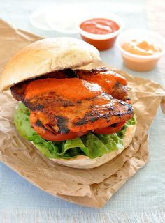 NANDO'S PERI PERI CHICKEN BURGER -- The recipe for Nando's Peri Peri sauce is a closely guarded secret. You'd have as good a chance of getting the recipe for Coca Cola or KFC. This is my copy-cat recipe. Out of all the recipes in my repertoire, this is the most requested by my friends.