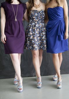 (LEFT)  Modern Day Royalty Dress, #ModCloth