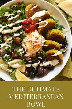 50 Healthy Mediterranean Diet Recipes and Meal Ideas Vegan Mexican Recipes, Meat Recipes, Dinner Recipes, Healthy Recipes, Mediterranean Bowls, Easy Mediterranean Diet Recipes, Spicy Almonds, Homemade Tahini, Whats Gaby Cooking