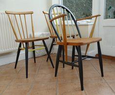 Ercol Windsor Carver chair от RestoredbyLiat на Etsy