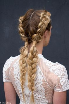Loving these Bohemian Brades! Use Reverie Styling Rake Balm give your braids texture, light support and hold.