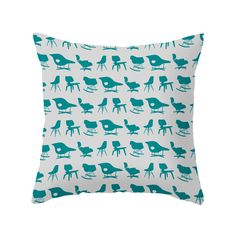 Take a seat with the Well Seated Pillow and you'll always be in stylish company. The chic gray background is dressed up with teal mid-century chairs, a playful nod to mid-century style, vamped up for c...  Find the Well Seated Pillow in Teal, as seen in the Retro Revival Collection at http://dotandbo.com/collections/retro-revival-1?utm_source=pinterest&utm_medium=organic&db_sku=104109