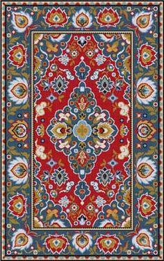 Persian Rug Susan Treglown mesh: 10:1 dimension: 48 x 78