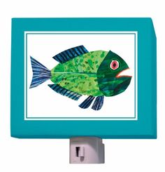 Eric Carle fish night light