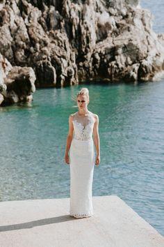 Athene / Nora Sarman Bridal / photo Pinewood Weddings