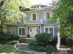 1930 Dutch Colonial Historic Home in Druid Hills, Atlanta, Georgia