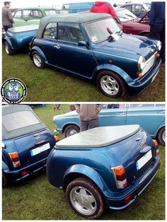 WOW! Just WOW!  How frickin cool is this Cabriolet Combo? Proper love this 1 folks, gorgeous!