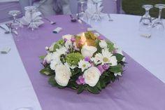 Purple Table Settings For Weddings | wedding tables