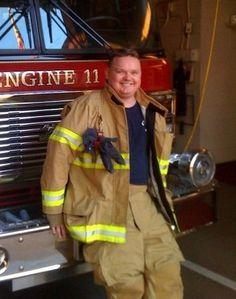 A Firefighter Raises Awareness about Autism #autismawareness