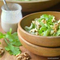 Minimal Monday: Celery Salad with Walnut Vinaigrette - The View from Great Island