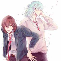 They used to be friend (T ^ T) #aine #ainekisaragi #kisaragi #kisaragiaine #reiji #reijikotobuki #kotobuki #kotobukireiji #horror #sad #day #sadday #utapri #utanoprince #utanoprincesama