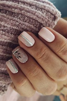 Do you need the latest gel short nails inspiration in We have the abundant and popular short nail ideas in 2020 for you. The 36 simple and unique short nail ideas will bring new inspiration to your nail design. Latest Nail Designs, Gel Nail Art Designs, Natural Looking Nails, Natural Nails, Bridal Nail Art, Nail Wedding, Short Gel Nails, Gel Nagel Design, Nail Effects