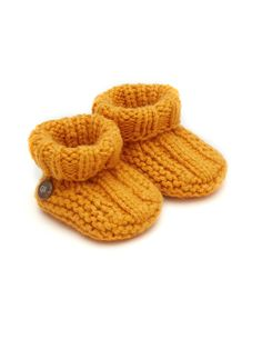 Cashmere Booties - Gold