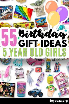 These 50+ Birthday Gifts for 5 Year Old Girls are gonna be amazing for our kids' birthday parties!! I can't believe you can see all of the coolest gifts for 5 year olds birthdays all in one place. 50 Birthday, 50th Birthday Gifts, Birthday Gifts For Women, Birthday Parties, Milestone Birthdays, 5 Year Olds, Our Kids, In Kindergarten, Cool Toys