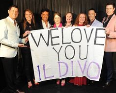 We truly have the most wonderful fans!  #IlDivoAmorPasion #IlDivo by ildivo_official
