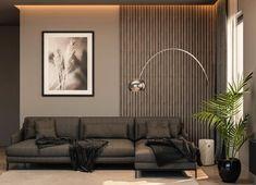 Wood Slat Wall, Wooden Wall Panels, Decorative Wall Panels, 3d Wall Panels, Wood Panel Walls, Wood Wall Decor, Wood Slats, Wooden Wall Design, Wall Boards Panels