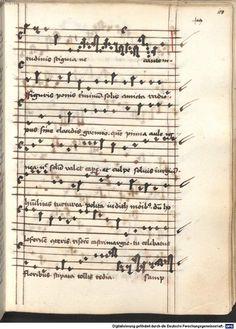 Cantionale, Geistliche Lieder mit Melodien. Münchner Marienklage Tegernsee, 3. Drittel 15. Jh. Cgm 716  Folio 108