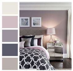 master bedroom paint colors Have trouble mixing and matching color in your home? Not sure what the RIGHT paint colors are for your room? A Room Color Story gives you a color Best Bedroom Colors, Bedroom Colour Palette, Bedroom Color Schemes, Bedroom Paint Colors, Paint Colors For Home, Room Color Ideas Bedroom, Wall Painting Colors, Colors For Bedrooms, Romantic Bedroom Colors