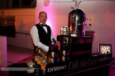 """Looking for the best service and """"WOW"""" factor for your next party? Visit www.cafealacarte.com and www.chocolatefountainsofsouthflorida.com #weddings #showers #mitzvahs #parties #coffee #chocolate #espresso #cappuccino"""