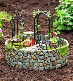 Achados da Mila: Mini jardins ou Fairy gardens