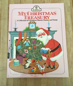 My Christmas Treasury Collection Stories Poems Songs Book Merrigold Press 1992