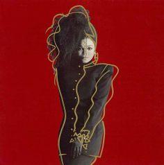 Janet Jackson Control 1985 by Tony Viramontes