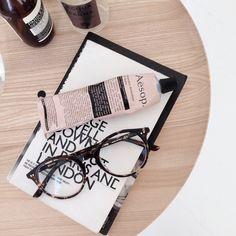 Key Side table black and ash by @apieceofcake for Hem.com