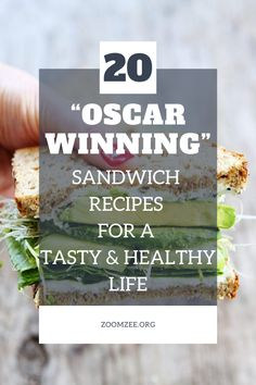 "20 ""Oscar Winning"" sandwich recipes for a tasty and healthy life. Healthy Sandwiches, Sandwich Recipes, Grilled Pesto Chicken, Healthy Life, Healthy Eating, Recipe Boards, Sliders, Recipies, Food And Drink"