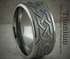 Celtic Wedding Rings and tying the Knot Heart Wedding Rings, Celtic Wedding Rings, Antique Wedding Rings, Cool Wedding Rings, Wedding Ring Designs, Antique Rings, Wedding Ring Bands, Wedding Ideas, Wedding Planning