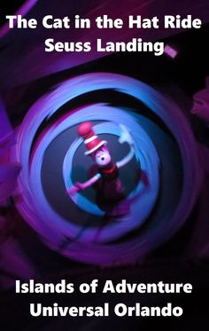 The Cat in the Hat Ride in Seuss Landing at Islands of Adventure is a delightful ride through a beloved story and is appropriate for all ages.  Get top Tips for Islands of Adventure park at Universal Orlando in Florida at http://www.buildabettermousetrip.com/islands-of-adventure-tips/