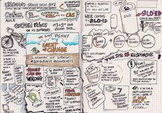 Color, flow, & spacing | Cath Baillie #sketchnotes