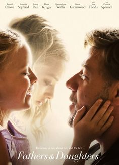Fathers and Daughters (2015) Directed by #GabrieleMuccino Starring #RussellCrowe #AmandaSeyfried #AaronPaul #DianeKruger #QuvenzhaneWallis #BruceGreenwood #JaneFonda #OctaviaSpencer #FathersandDaughters #Hollywood #hollywood #picture #video #film #movie #cinema #epic #story #cine #films #theater #filming #opera #cinematic #flick #flicks #movies #moviemaking #movieposter #movielover #movieworld #movielovers #movienews #movieclips #moviemakers #animation #drama 2015 Movies, New Movies, Movies To Watch, Movies Online, The Daughter Movie, Bruce Greenwood, Movie Talk, Mickey Rourke, Dolph Lundgren