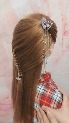 Kid hairstyles 617133955172443372 - 20 Cute Layered Hairstyles and Cuts for Long Hair in 2019 Source by wcasesfashion Hairstyles For Layered Hair, Headband Hairstyles, Braided Hairstyles, Cool Hairstyles, Office Hairstyles, Anime Hairstyles, Hairstyles Videos, Hairstyle Short, Hair Updo