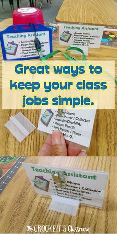 Are your class jobs more work for you than your kids? Find out how to keep everything simple.