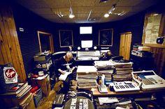 Prop Dylan från Borlänge i Headqcuorters för att spela in med DJ Premier i New York