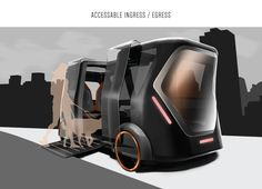 EVA / Everyone's Vehicle Assistant on Behance Car Design Sketch, Car Sketch, Box Design, Best Luxury Cars, Luxury Suv, Creative Logo, Creative Design, Future Transportation, Live Wire