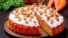 Easy Carrot Cake, Vegan Carrot Cakes, Baking Recipes, Cake Recipes, Dessert Recipes, Dessert Food, Coconut Deserts, Best Chocolate Cake, Healthy Cake