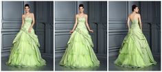 I love the green wedding dress.Do you love it?Tell me about your thoughts.#Dylanqueen