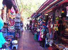 Olvera Street - wander through the colorful stalls