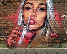 Street Art (Best of. Tag Art, Graffiti Art, Banksy, Art Mur, Street Mural, Amazing Street Art, 3d Drawings, Drawing Art, Soul Art