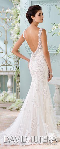 David Tutera for Mon Cheri Spring 2016 Wedding Dress - Belle The Magazine